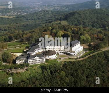 Petersberg hôtel, maison d'hôtes de la République fédérale d'Allemagne, l'Allemagne, en Rhénanie du Nord-Westphalie, Banque D'Images