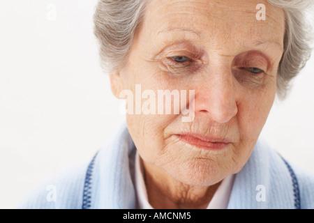 Portrait de femme Banque D'Images