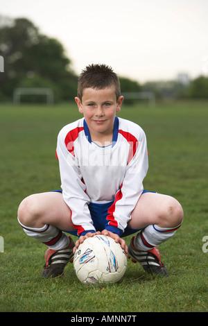 Portrait de joueur de foot