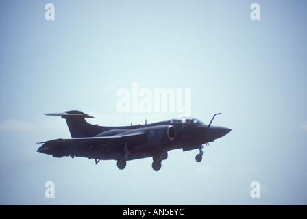 Hawker Siddeley Buccaneer Faible Niveau des avions d'attaque Royal Air Force. Banque D'Images