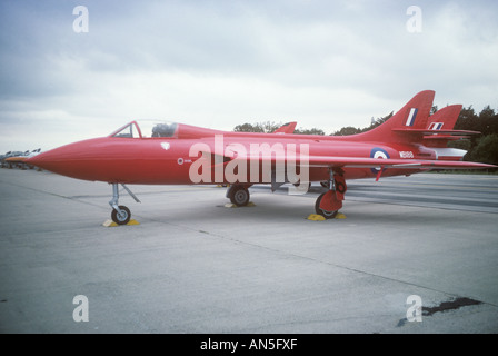 Prototype Hawker Hunter Royal Air Force Banque D'Images