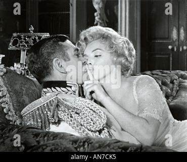 PRINCE AND THE SHOWGIRL 1957 Warner film avec Laurence Olivier et Marilyn Monroe Banque D'Images