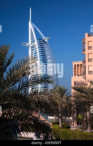 Hôtel Burj Al Arab Banque D'Images