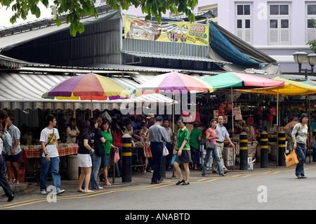 Marché de Singapour à Bughis Junction Banque D'Images