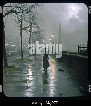 Diapositive sur remblai Banque D'Images