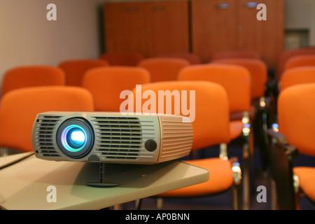 Projecteur prêt pour présentation Banque D'Images