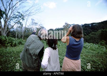 L'Amérique centrale, le Panama, la Province de Darien, parc national de Darien, Cana. Banque D'Images