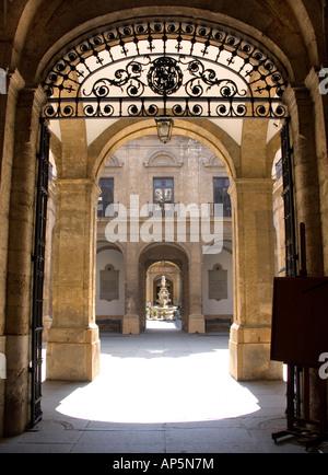 Université de Séville, Espagne. Banque D'Images