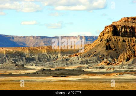 Banc de mamelon badlands, Glen Canyon, Utah