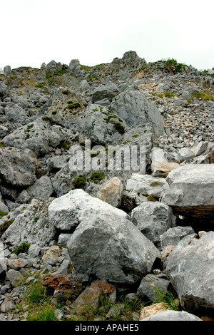 Vue générale de Picos de Europa en Espagne Galice ibérique péninsule du nord Banque D'Images