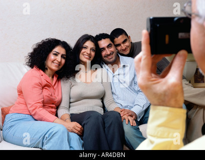 Photo de famille Banque D'Images