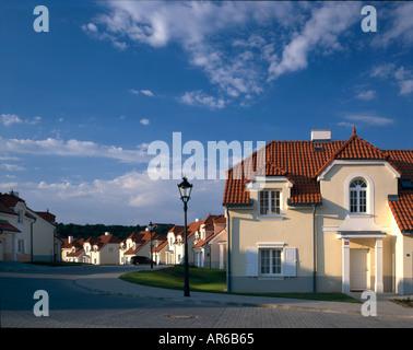 Sarka Mala, Logement Prague. Les développeurs: Hines. Vue d'ensemble. Architecte: concept urbain Banque D'Images