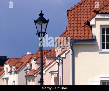 Sarka Mala, Logement Prague. Les développeurs: Hines. Détail extérieur. Architecte: concept urbain Banque D'Images