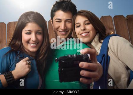 Les amis de prendre Photo