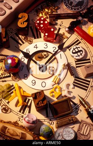 Concept d'entreprise et temps Banque D'Images
