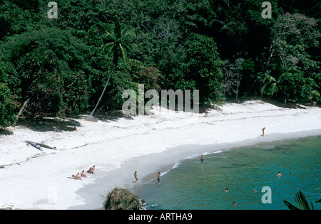 Parc National Manuel Antonio, Costa Rica Banque D'Images