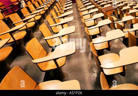 Collège vide salle de conférences Banque D'Images