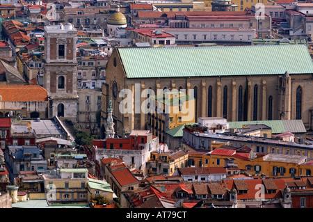 Napoli Naples Centre Historique monastère Santa Chiara Banque D'Images