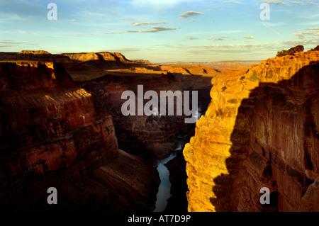 Lever de soleil sur Grand Canyon Banque D'Images