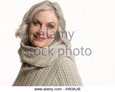 Femme beige Banque D'Images