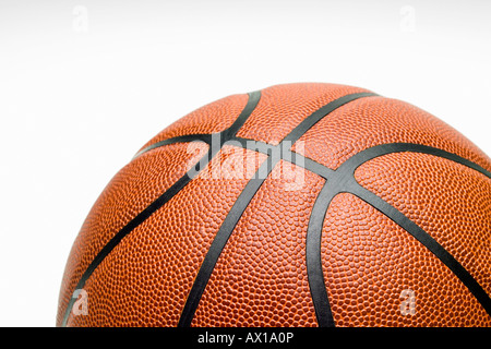 Studio shot, Close up of basket-ball Banque D'Images
