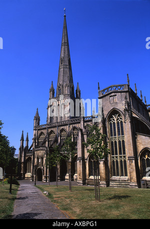 L'église paroissiale de St Mary Redcliffe Bristol England UK