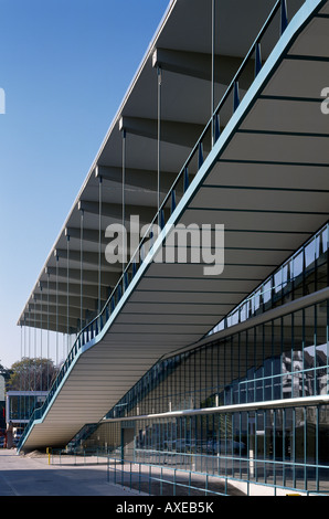 Düsseldorf, Haniel-Garage, rampe, Architekt: M. Schneider-Esleben Banque D'Images