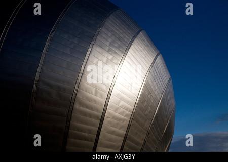 Le futuriste Science Museum Glasgow Glasgow Scotland UK Banque D'Images
