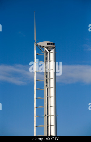 La tour de Glasgow futuriste au Science Museum Glasgow Scotland UK Banque D'Images