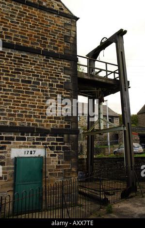 Historique Le moteur et pompe style Newcomen à Elsecar, Barnsley, South Yorkshire, UK
