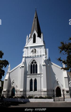 La Mère église moederkerk ou drostry sur la rue stellenbosch winelands province de Western Cape afrique du sud