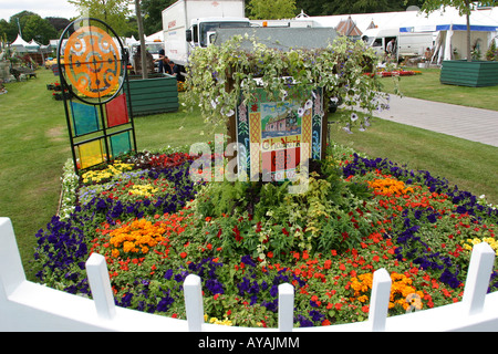 Knutsford Cheshire UK Tatton Hall RHS Flower Show Conseil Chadkirk Chapelle Jardin Stockport