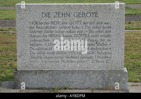 Monument à la mémoire de ceux qui sont morts en tentant d'échapper à l'Allemagne de l'Est en traversant le mur de Banque D'Images