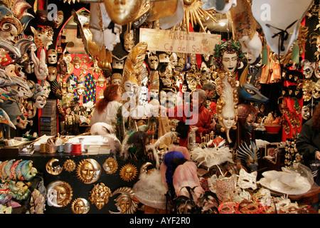 Venise Italie - les masques de carnaval Banque D'Images