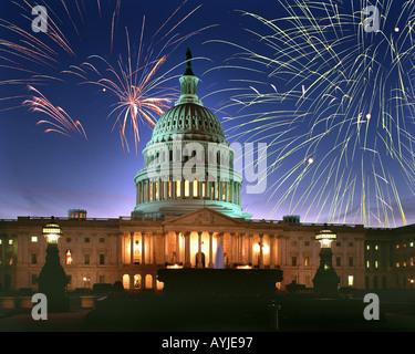 USA - WASHINGTON DC: le Capitole Banque D'Images