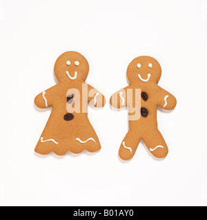 Gingerbread cookies Banque D'Images