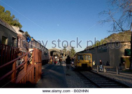 Griffith Park Ville Voyage Los Angeles California Banque D'Images