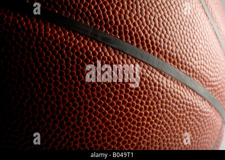 Close up d'un terrain de basket-ball Banque D'Images