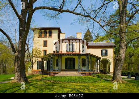 Locust Grove le Samuel Morse Historic Site Poughkeepsie New York Banque D'Images