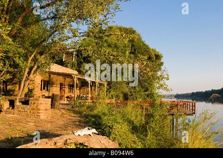 Kunene River Lodge, Kunene River, Kaokoveld, Namibie, Afrique du Sud