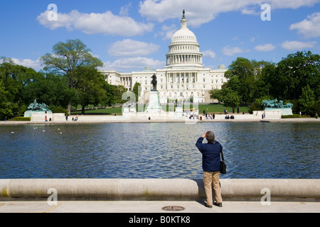 Photographie d'prend le United States Capitol Washington DC, United States of America