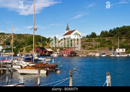 Marina de la côte occidentale de la Suède Banque D'Images