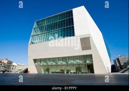 Porto, Portugal. L'Opéra. (Casa da Musica) Banque D'Images