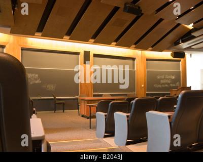 Salle de conférence, l'université de Swarthmore Unified Science Center, New York, USA Banque D'Images