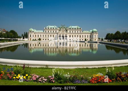 Schloss Belvedere, Vienne, Autriche