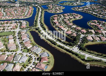 Le développement du logement à Fort Lauderdale Banque D'Images