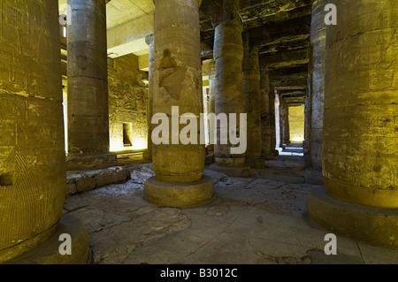 Temple de Seti I, Abydos, Egypte Banque D'Images