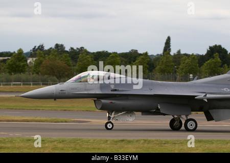 Lockheed Martin F-16C Fighting Falcon Farnborough Air Show 2008