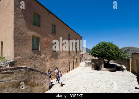 Dans la citadelle Old Barracks, haute-ville (vieille ville), Corte (ancienne capitale de la Corse indépendante), Banque D'Images