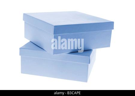 Pile de boîtes cadeaux Banque D'Images